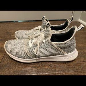 Adidas memory foam grey women's size 9.5